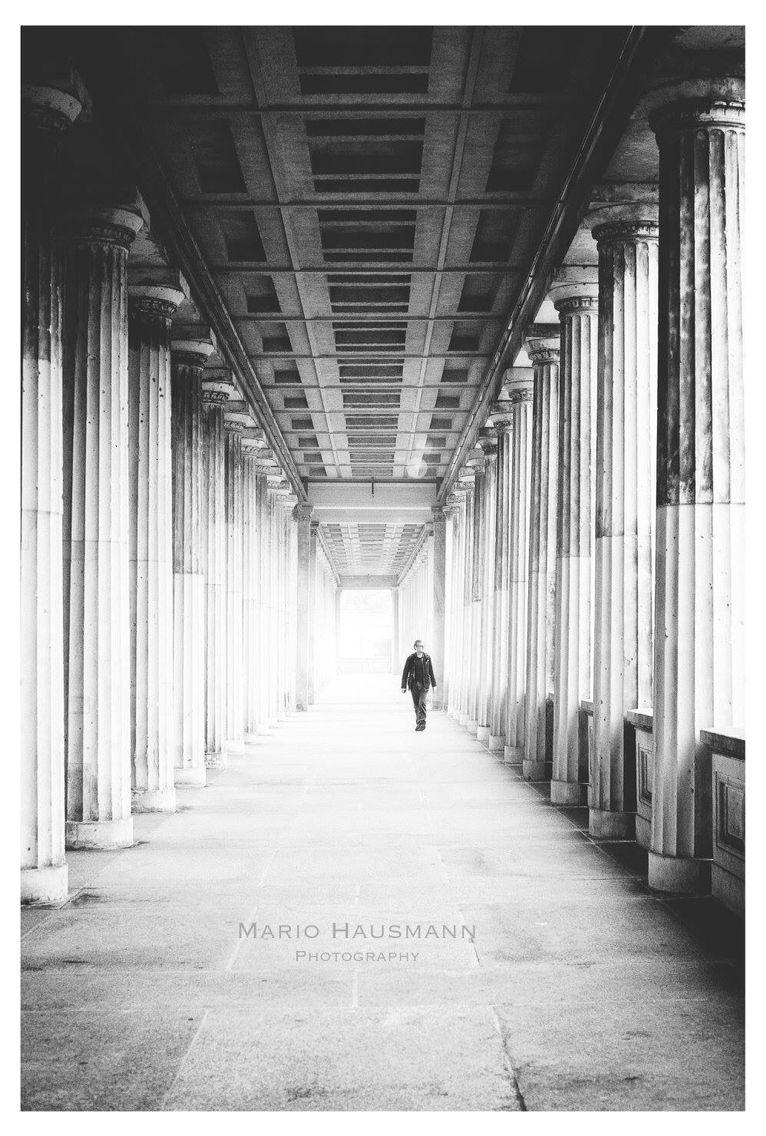Streetphotography Berlin #man #old #walk #street #bw #streetphotography