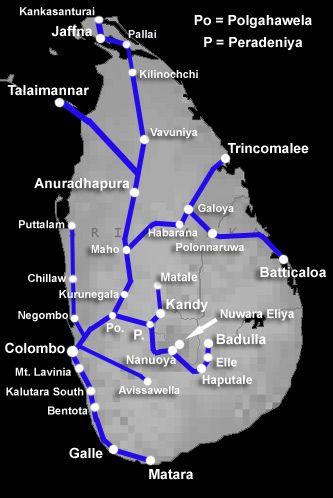 Train travel in Sri Lanka | Timetables, fares, tickets, advice