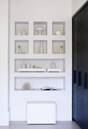 Pared de pladur en estanter a de ba o ideas para el hogar pinterest - Estanterias cuarto de bano ...