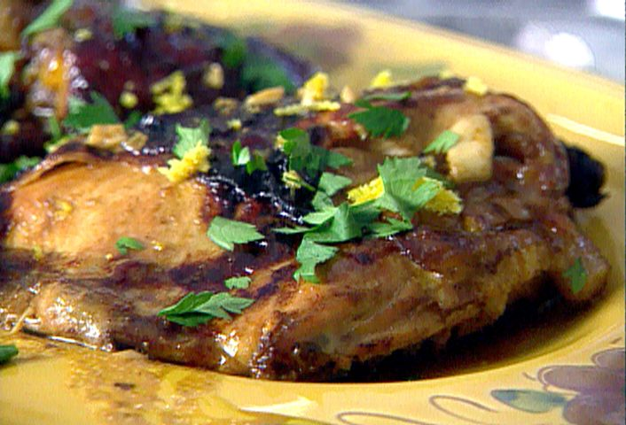 Roasted Chicken With Balsamic Vinaigrette Recipe Food
