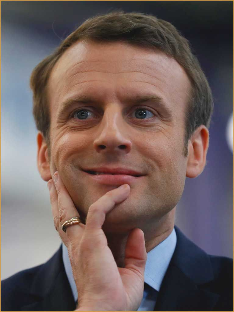 Foto Emmanuel Macron Macronlebenslauf0d Trending