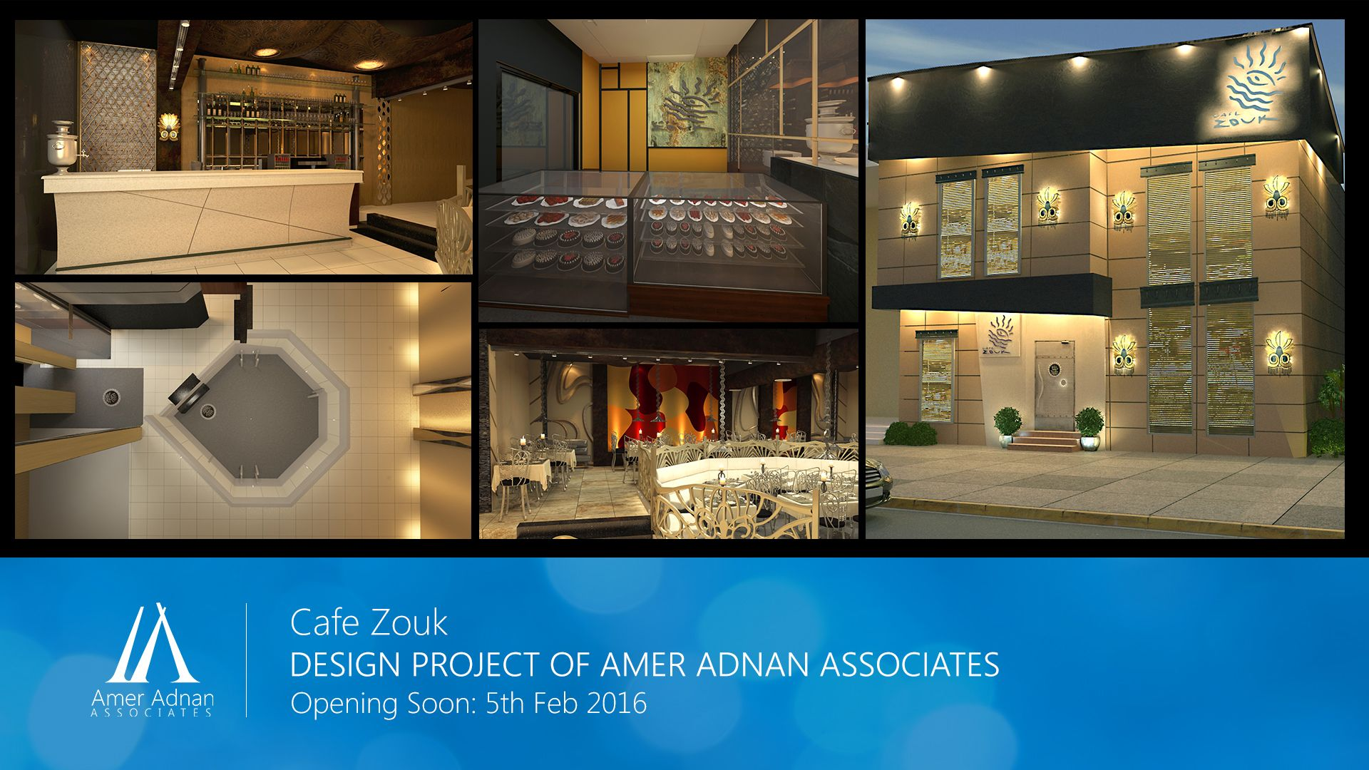 Cafe Zouk In Sialkot