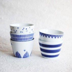 東屋 印判そば猪口 | Japan Design Store