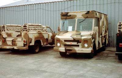 Desert Camo Step Van
