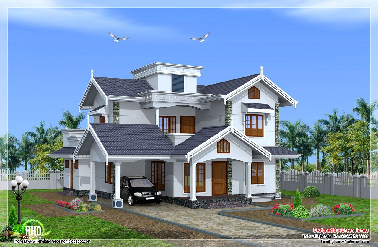 Beautiful Normal Simple Houses In Kerala Photos