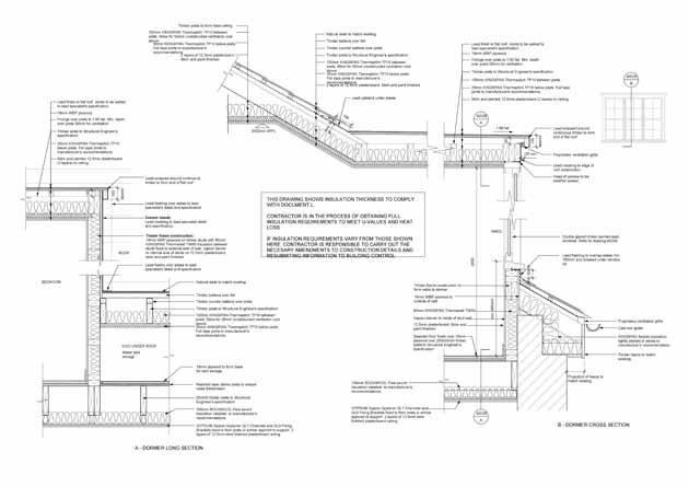 Image Result For Dormer Window Construction Detail Section