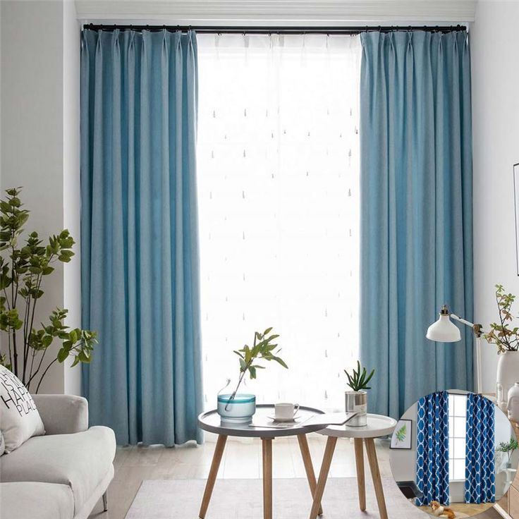 Matching Furniture With Curtain Color Ideas In 2020 Blue