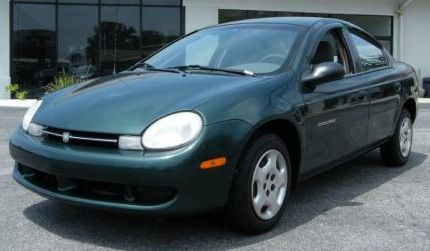 2000 Dodge Neon Highline In Forest Green Pearlcoat With Images