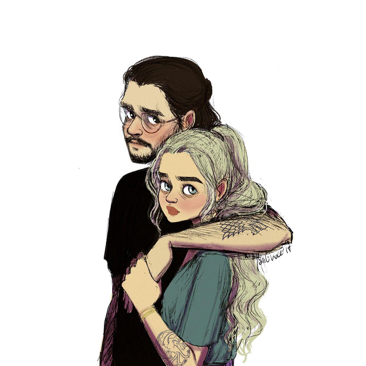 jon snow dating khaleesi