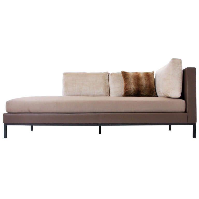 Christian Liaigre For Holly Hunt Sofa/Daybed, Pair Available | 1stdibs.com