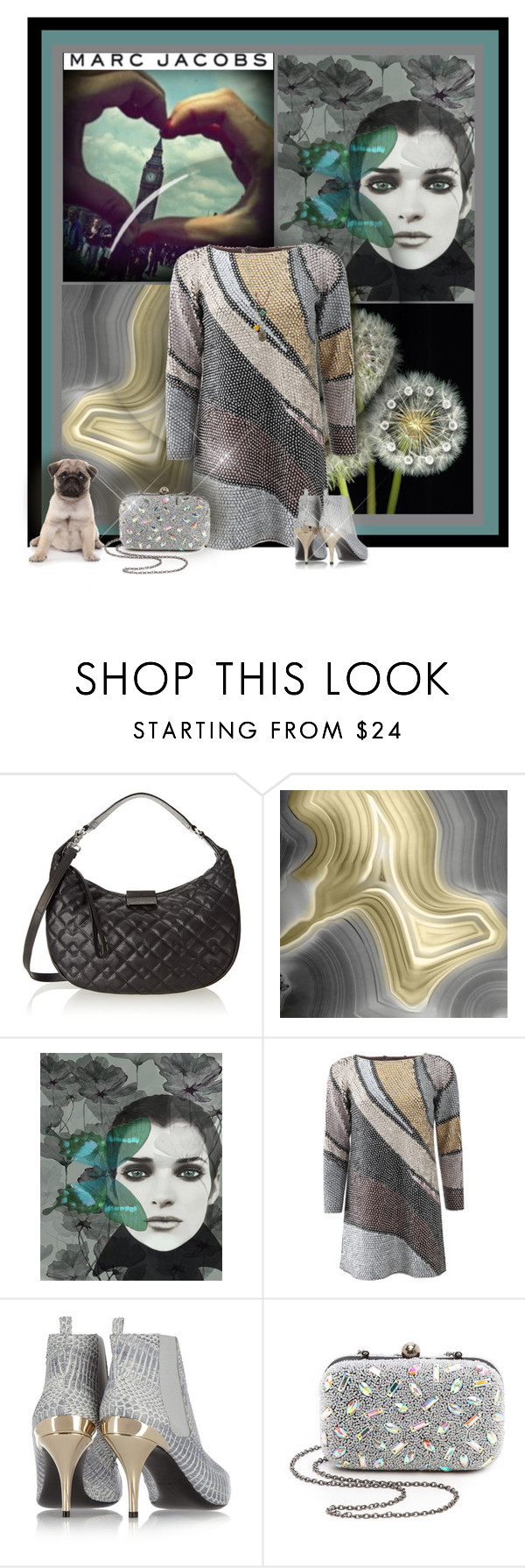 """""""Marc Jacobs"""" by sherry7411 ❤ liked on Polyvore featuring Marc by Marc Jacobs, WALL, Marc Jacobs, Lanvin, Santi and 1928"""