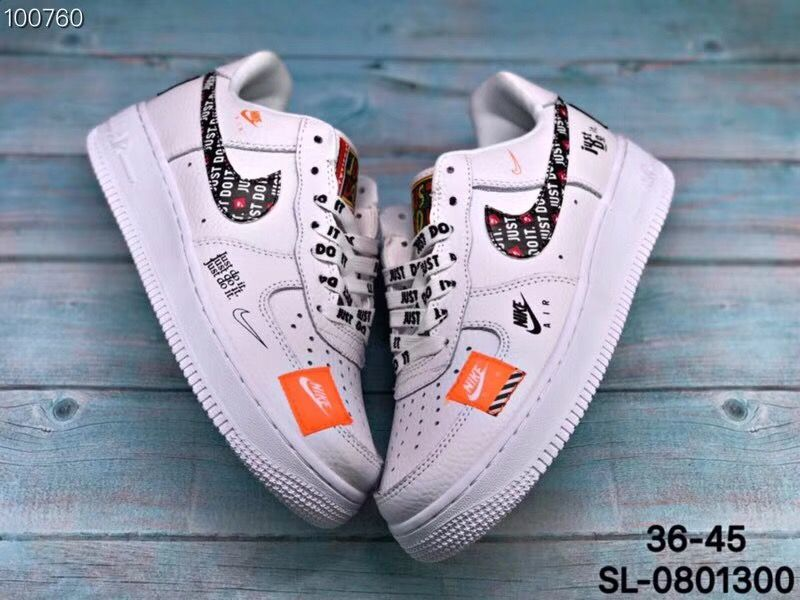 Nike Air Force 1 Low Just Do It Nike Shoes Air Force Nike Air Shoes Hype Shoes
