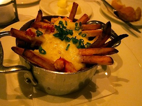 Lobster Poutine at Emeril's