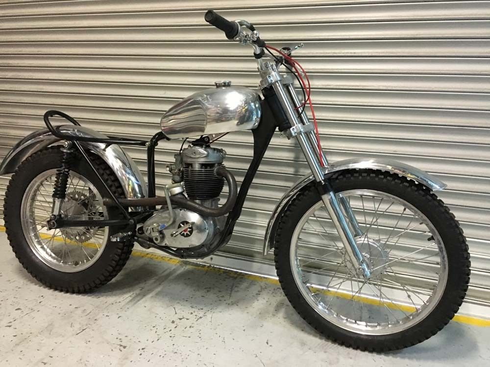 Bsa B40 Trials Project Sold Twinshock Classic 2nd Hand