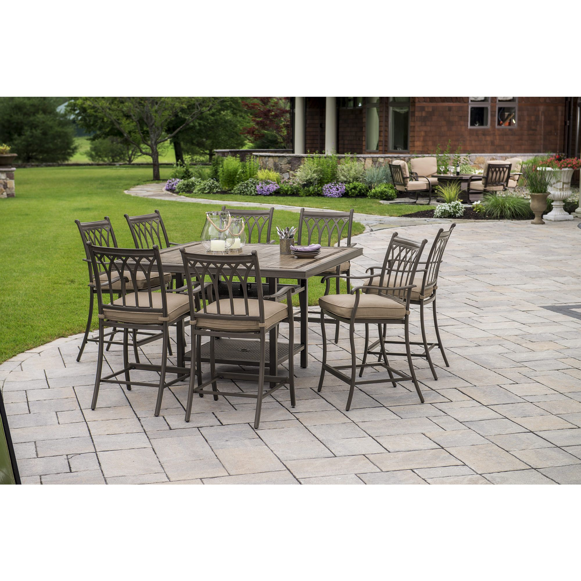 Bj's 9 Piece Outdoor Dining Set