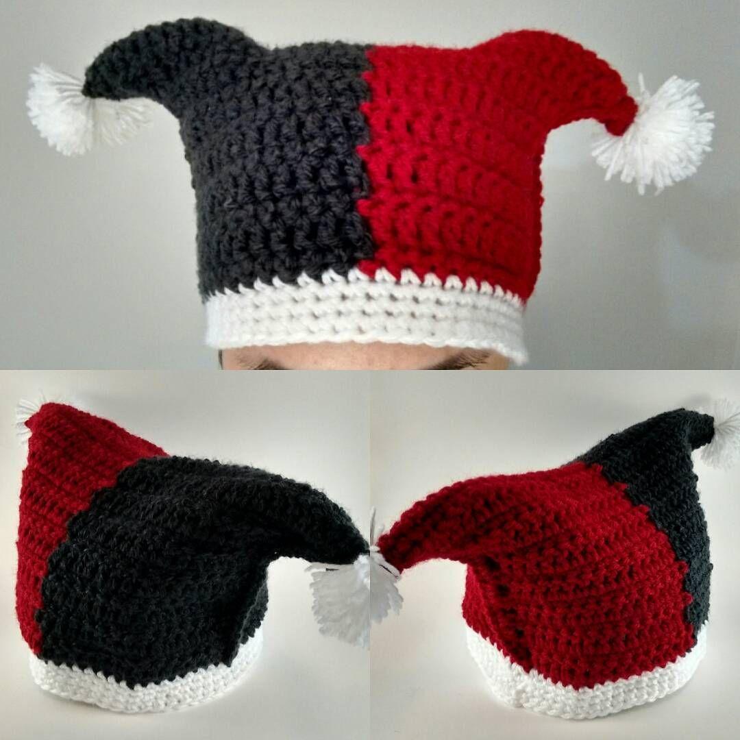 Harley Quinn Hat More | crochet character hat | Pinterest | Sehen ...