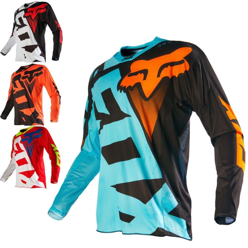 Fox Racing 360 Shiv Mens Off Road Dirt Bike Motocross Jerseys  cbdd7c1b3
