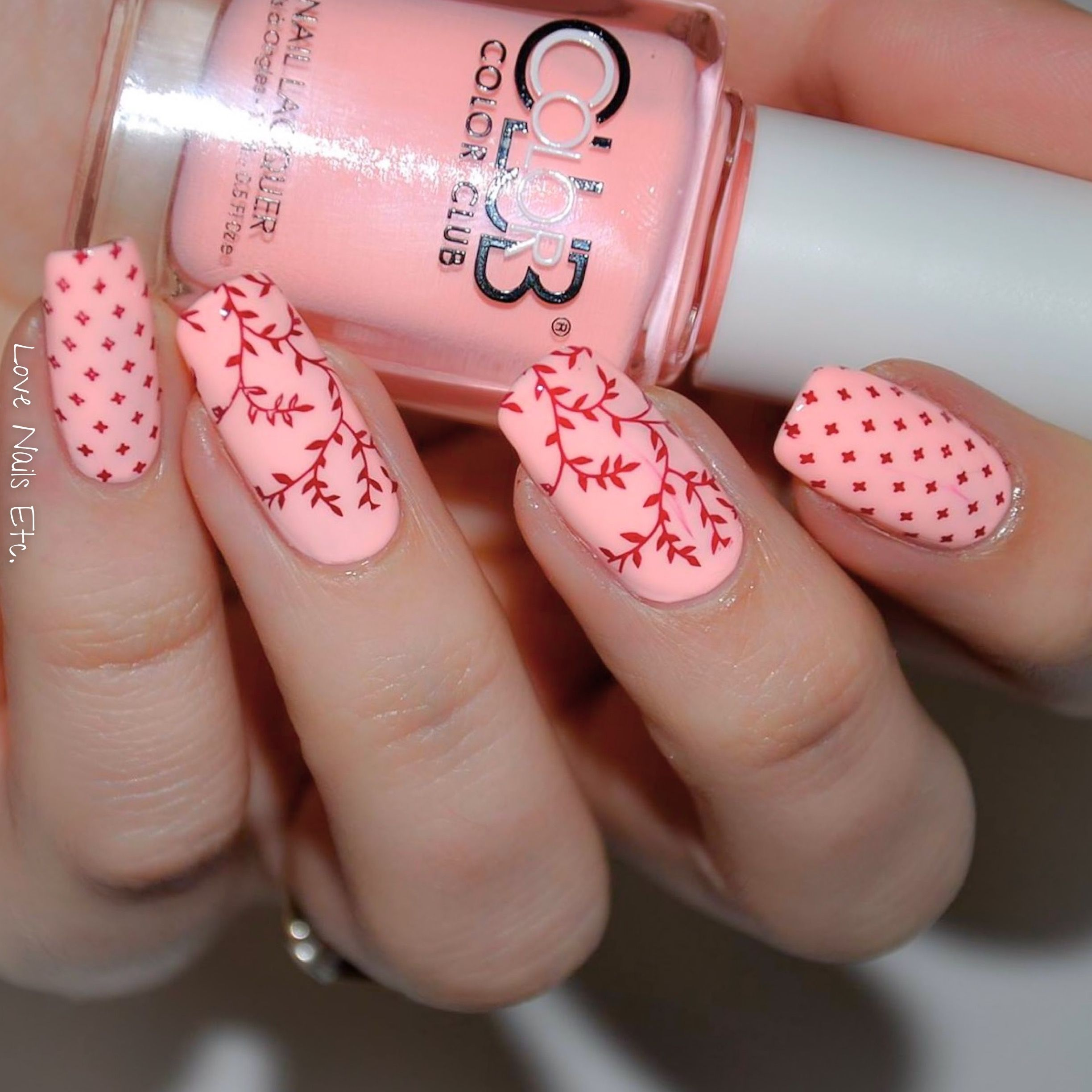 Find this Pin and more on Nail Art St&ing. ÜberChic Beauty st&ing plates (set ... & Ξ -Color Club NEON Pastel \u2013 Hot-hot-hot pants- Ξ | Color club and ...