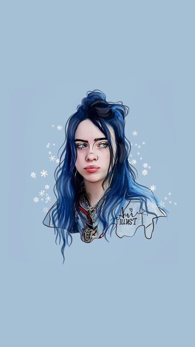 Pin By Francesca Fernandez On Billie Eilish In 2020 Girls Cartoon Art Cute Drawings Billie