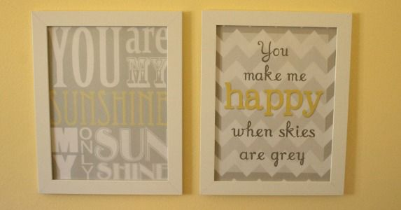 Grey and Yellow Art {download | Bathroom wall art, Gray and Walls