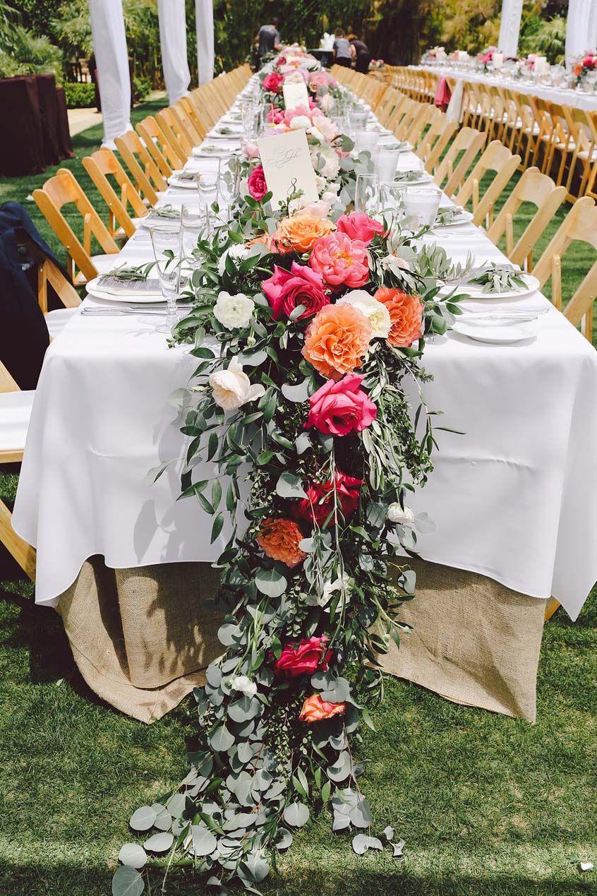 Cascading Wedding Tabletop Decor. Long Wedding TablesWedding Table ...