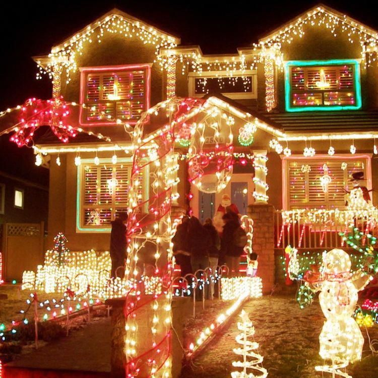 50 Spectacular Home Christmas Lights Displays Christmas Light