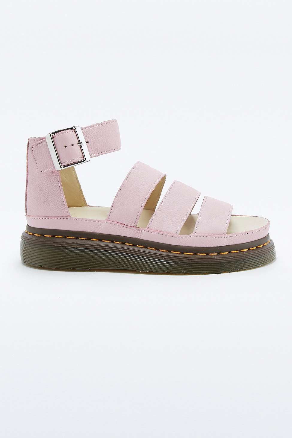 97cc5d025f4b Dr. Martens Clarissa Pink Strap Sandals