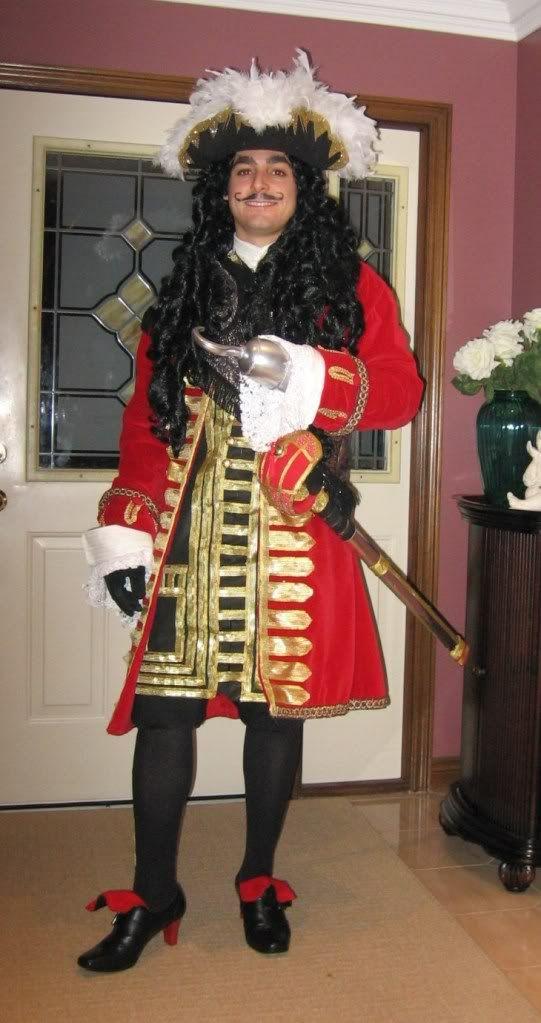 Captain Hook Halloween Costume Halloween Captain hook