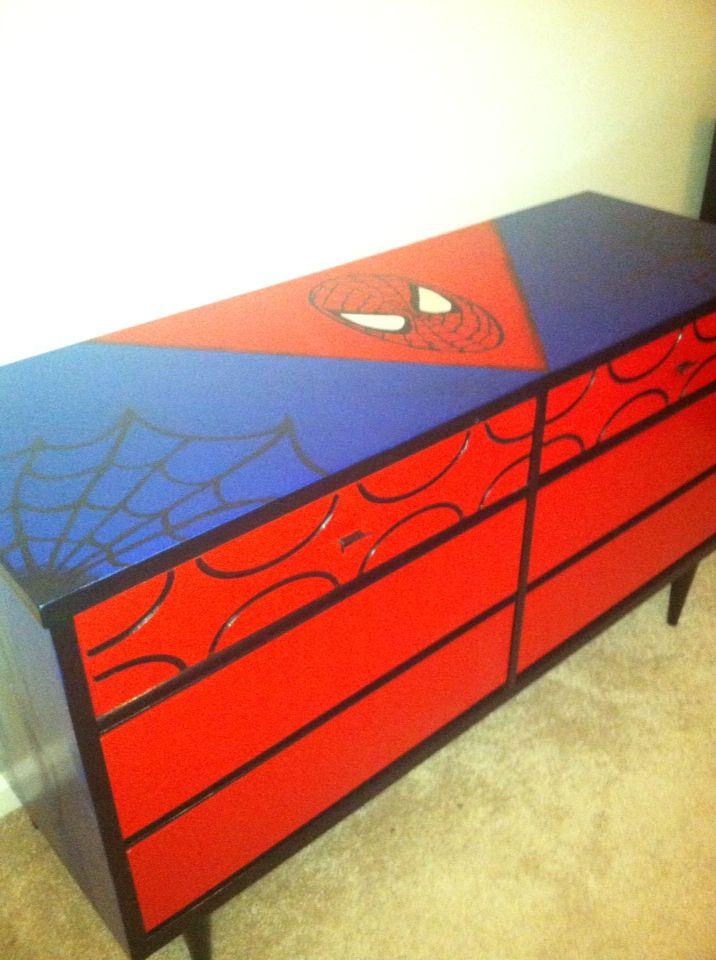 Baby Kayden S Spider Man Dresser Spider Man Dresser For