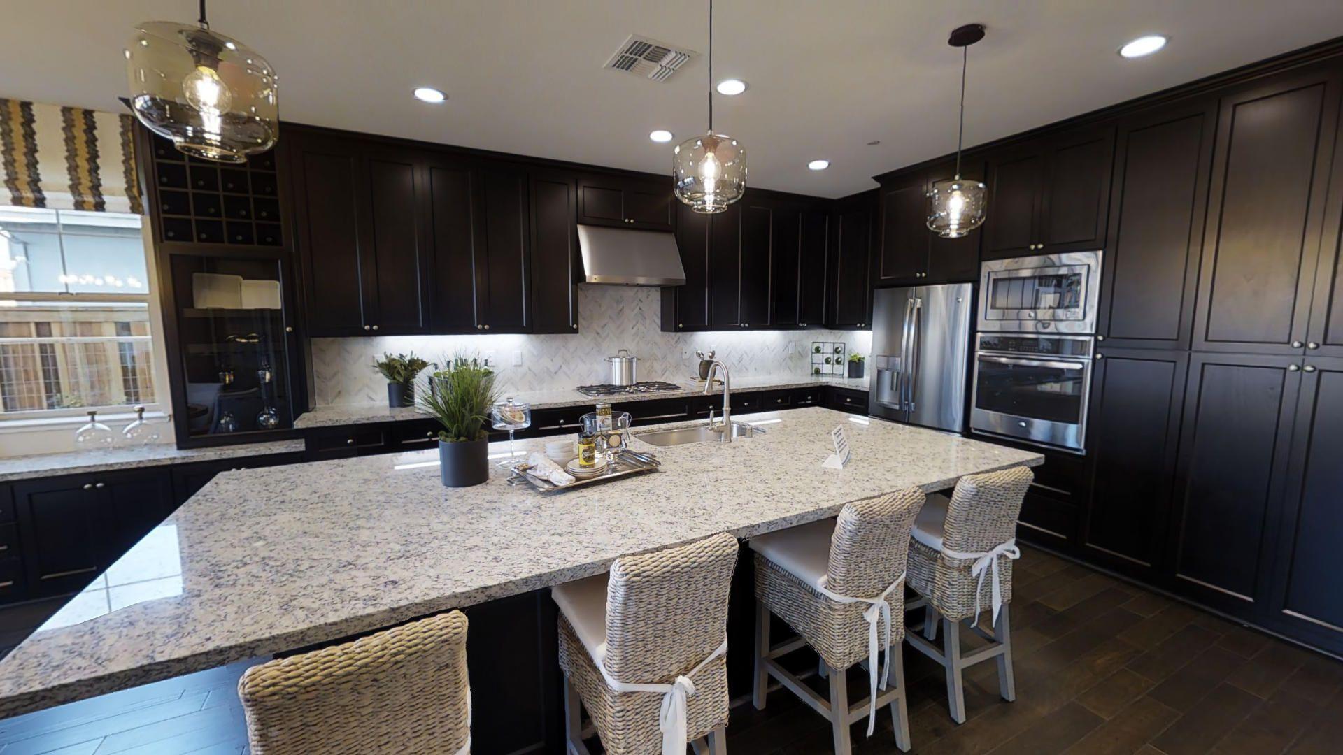 Residence Three Kitchen At Ashford New Neighborhood In Mountain
