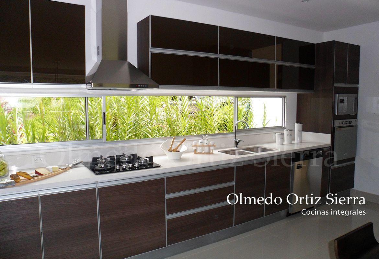 Cocinas Integrales Modernas Decoraci N Pinterest Cocinas  # Budnik Muebles De Cocina