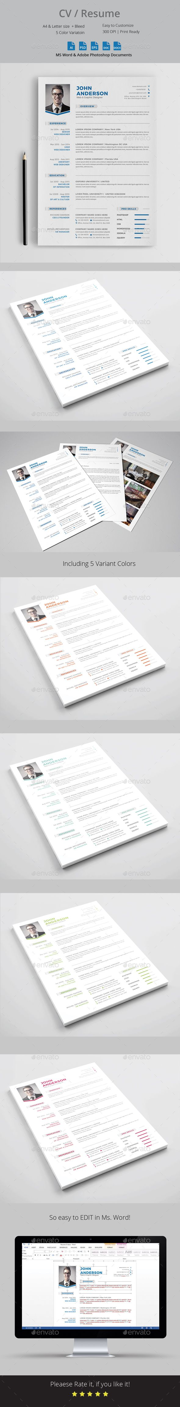 CV Resume Template CV Resume Template