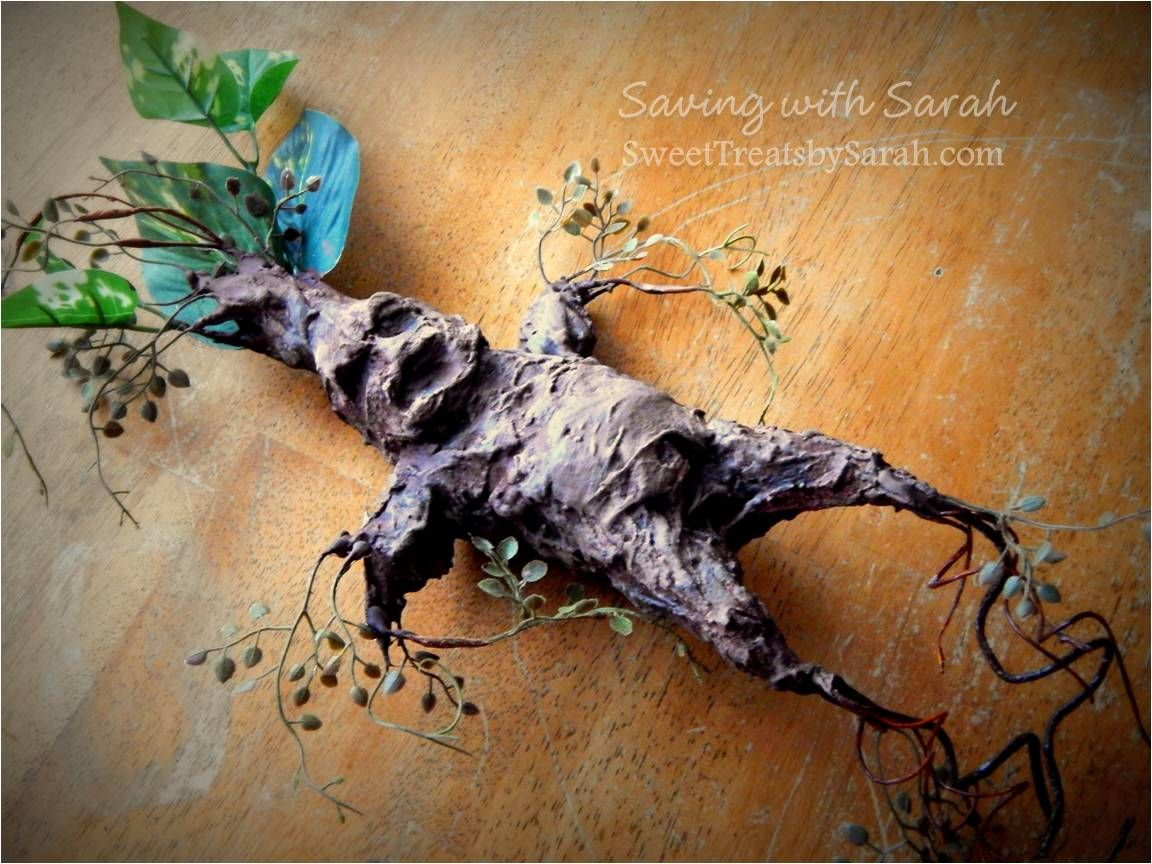 Harry Potter DIY Project Part 2 : Spell Book and Mandrake Root