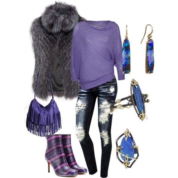 """""""Silver Fox"""" by angieperez-2 on Polyvore"""