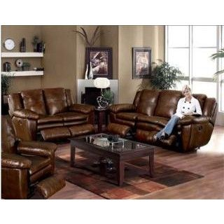 Catnapper Sonoma Reclining Leather Living Room Group At Big Sandy Superstore