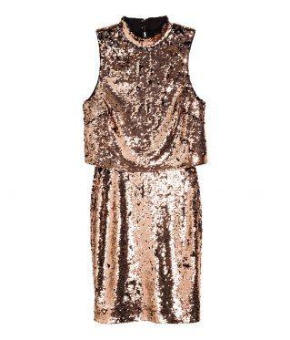 Zu Viele Verbindungen Paillettenkleid Kleider H M Modestil