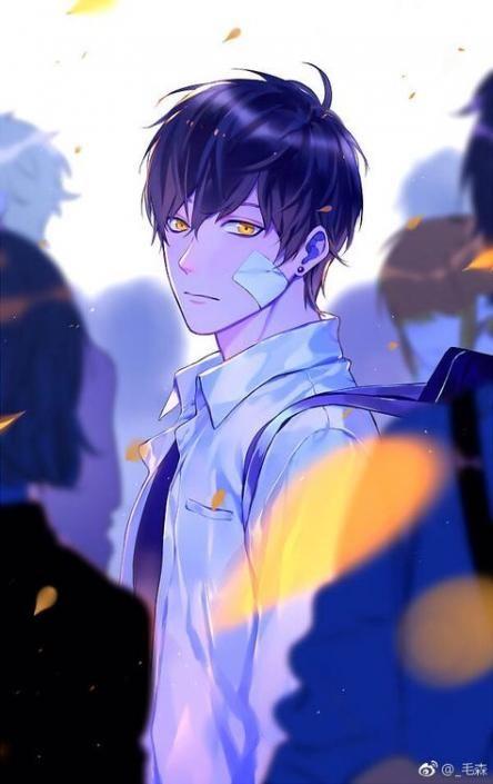 Best Hair Blue Eyes Black Ideas Anime Drawings Boy Handsome Anime Anime