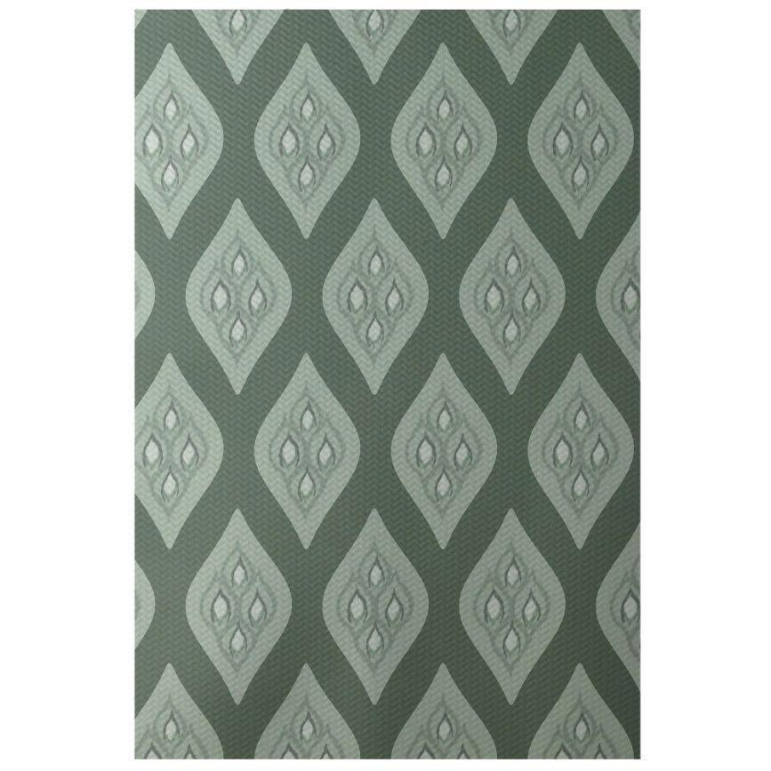 Decorative Abstract Diamond Pattern Area Rug