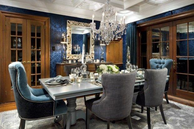 Candice Olson Dining Room Gets Dressed Up Cuartos Decoracion