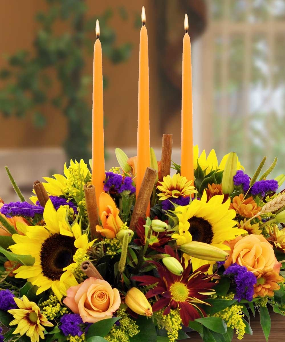 Mayflower Centerpiece Thanksgiving flowers, Thanksgiving