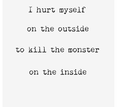 Self Harm Quotes Beauteous Image Result For Self Harm Quotes  Grungedeep Things  Pinterest
