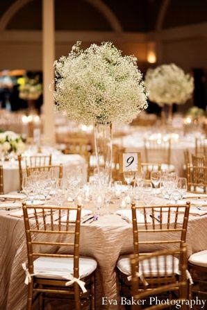 Indian Wedding Reception Floral Decor Maharaniweddings