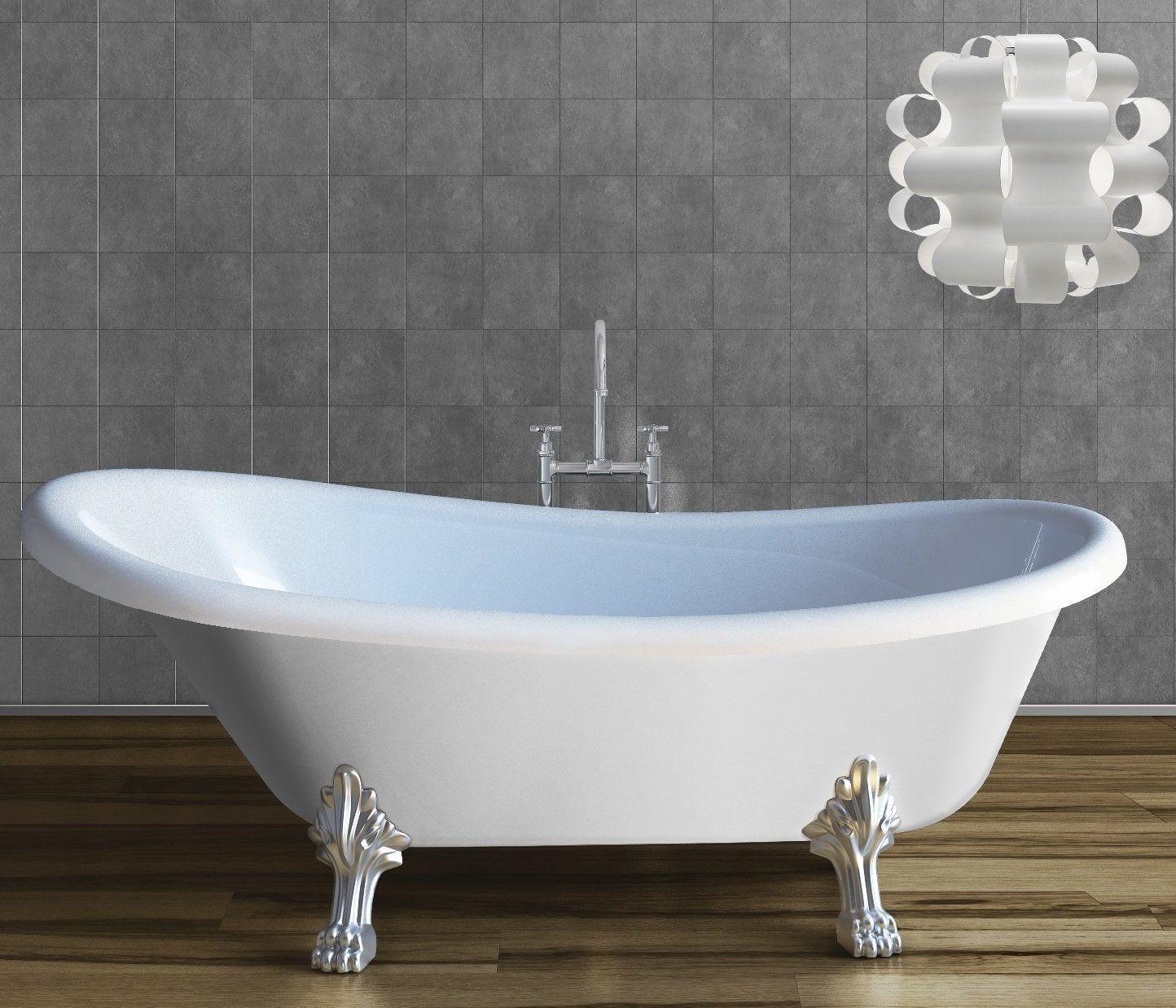 Risultati immagini per vasca antica con piedini in bagno moderno ...