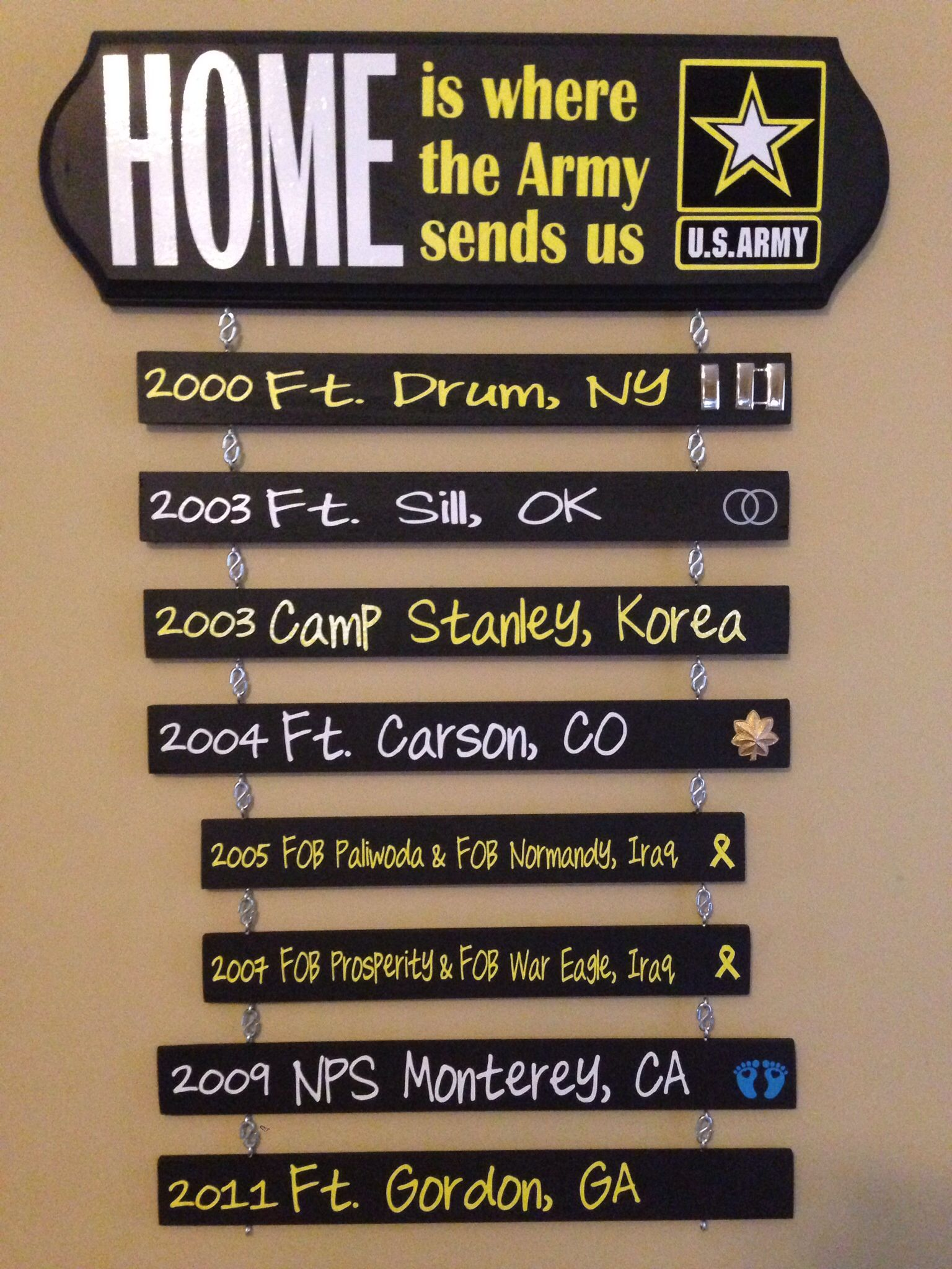 """Top Plaque 3.59 5""""tall 17"""" wide at Joann's 40 off"""