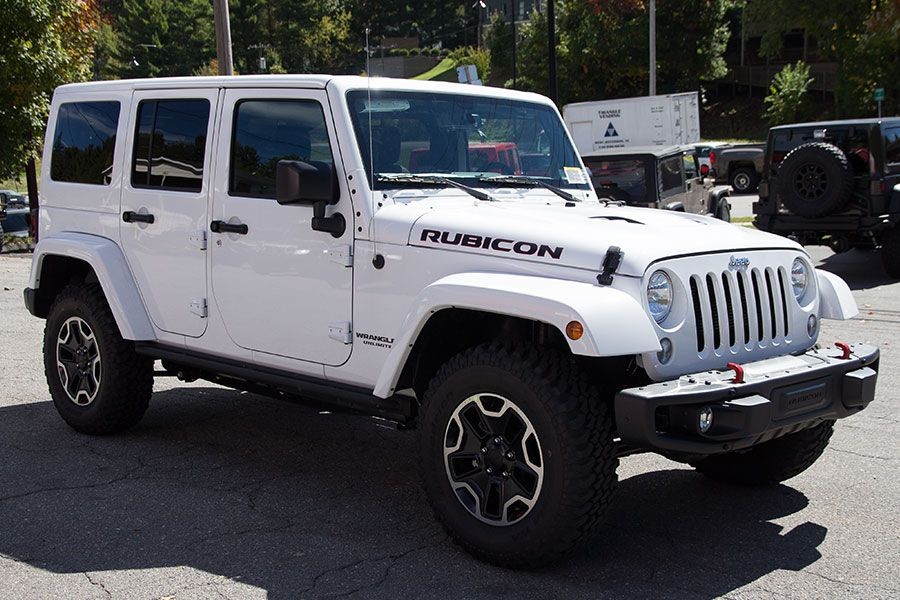 Brand New Wrangler Rubicon Hard Rock Edition Special Edition