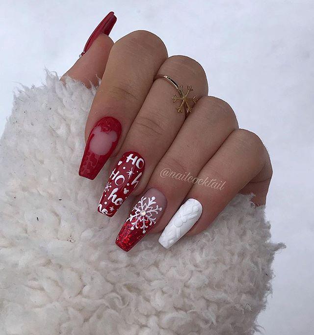 Winter Nails Winter Nail Colors Dark Winter Nails Winter Nails