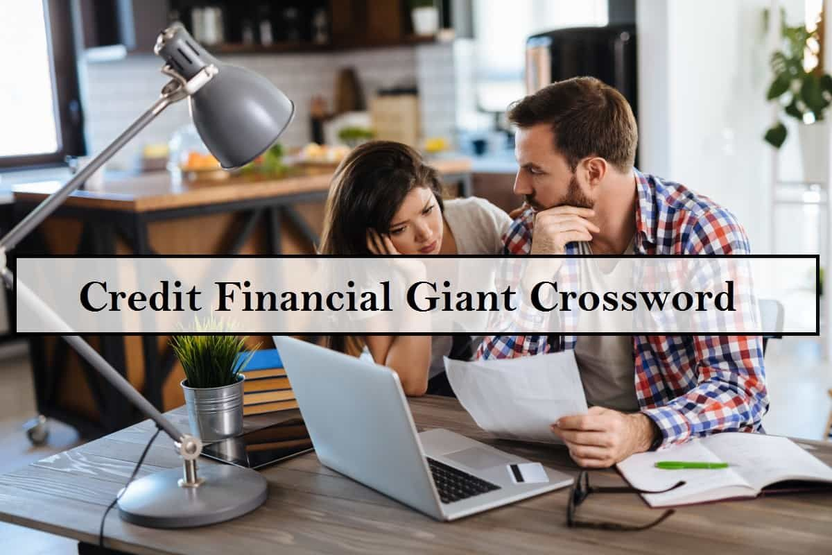 Credit Financial Giant Crossword Free Time Activities Financial