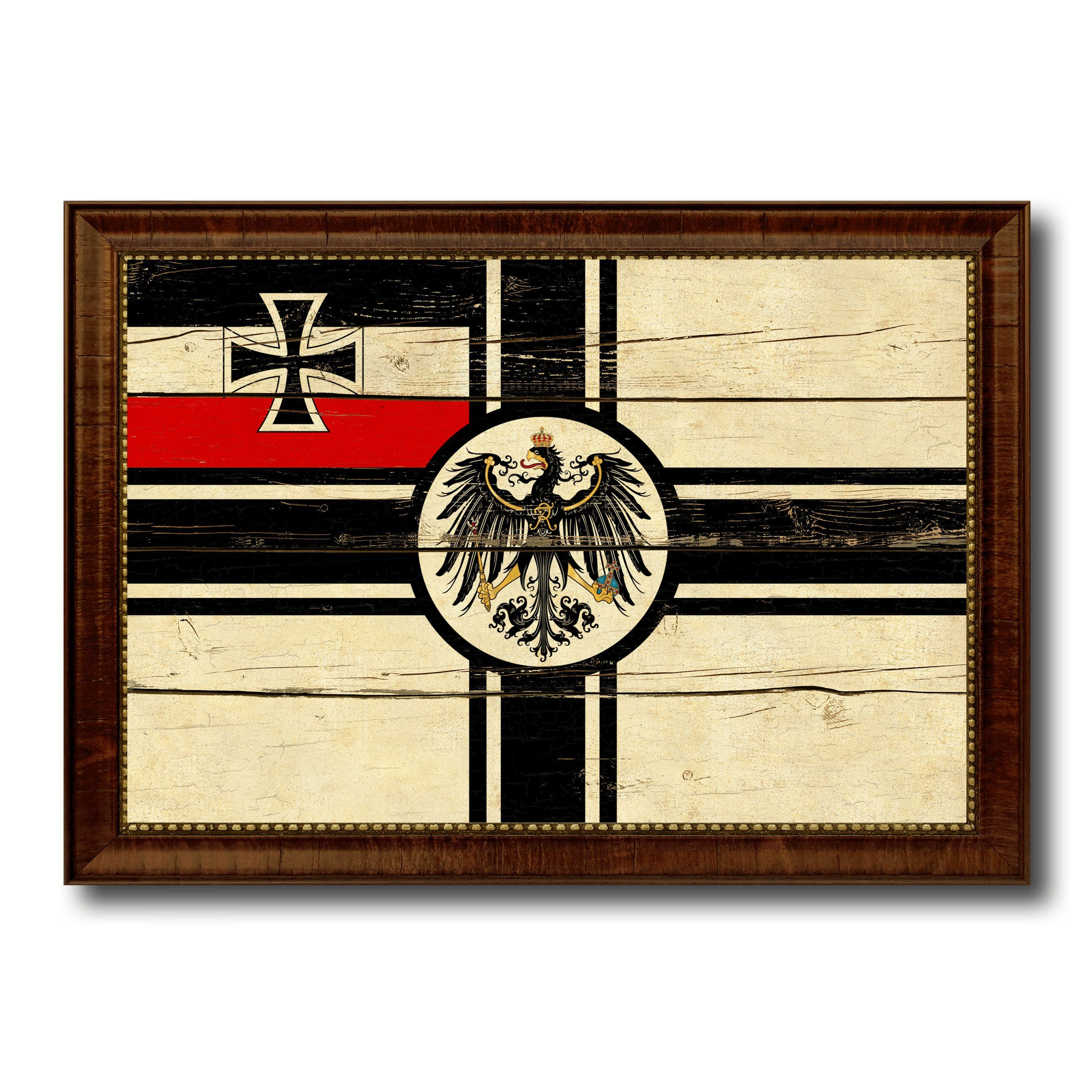 Imperial German Navy 1867-1871 War Military Flag Vintage Canvas ...