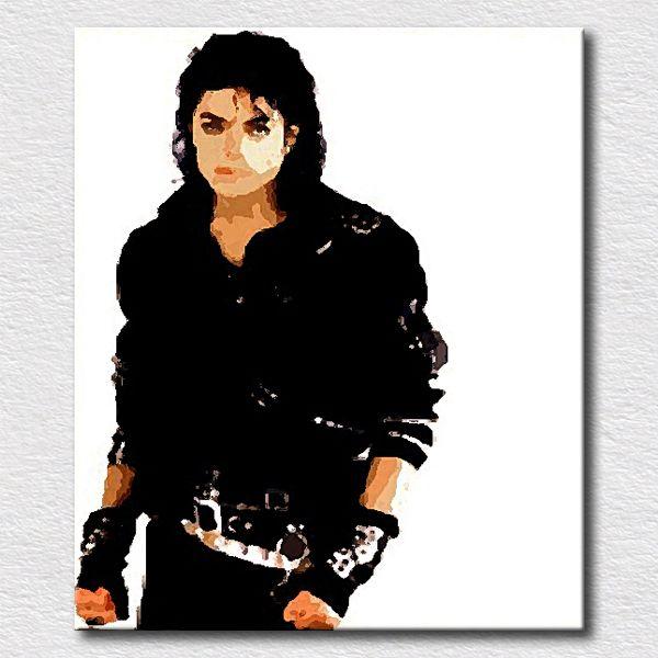 Michael Jackson Poster Pictures On The Wall Decorative Oil
