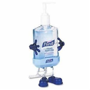 Purell Pal Desktop Kit 12 Case Hand Sanitizer Dispenser Hand